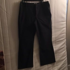 Black old navy pants. Size 14